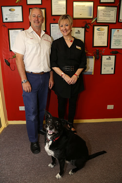 Mick & Sheila Humberstone - Owners of Surekil Pest Control